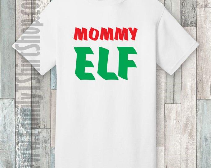 Mommy Elf T-shirt