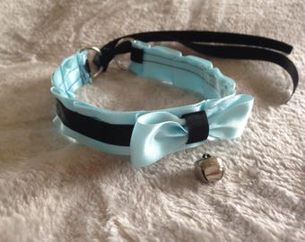 Blue & Black Collar