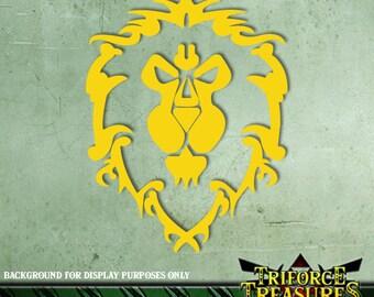 Warcraft Alliance Logo Sticker / Decal