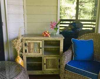 rustic pallet cabinet with chicken wire door jelly cabinet reclaimed wood shabby chic