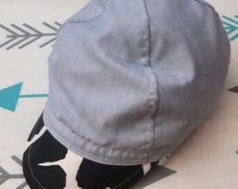 Micro-stripe Cycling Cap