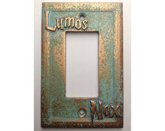 Lumos/Nox (Harry Potter) Decorator Switch/Outlet Cover