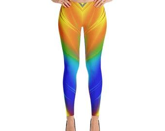 Brightly Colored Women Leggings