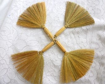 Mini broom etsy for Straw brooms for crafts