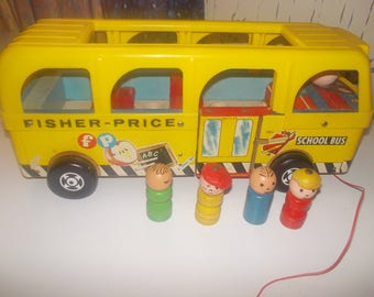 vintage fisher price bus