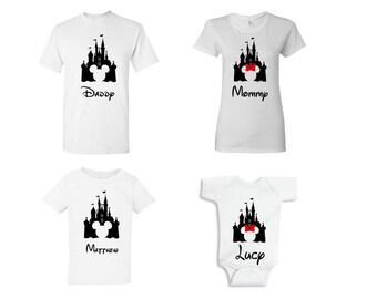 Disney vacation shirts/Family set/ Family vacation shirt/ Disney family shirts/ Disney inspired