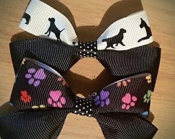 Dog Collar Bows