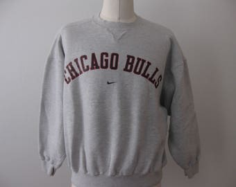 Vintage Chicago Bulls Sweatshirt Mens Adult Large Nike