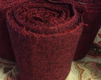 Winingas - Viking - Norse - Anglo-Saxon Leg Wraps red wool