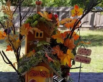 Autumn miniature house