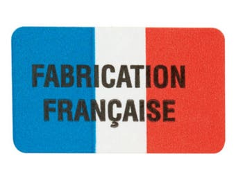 "Labels stickers ""French"" 3.2 cm * 1.9 cm"
