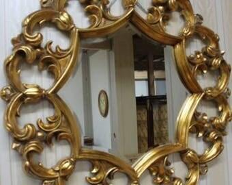 Baroque mirror wall mirror antique style AfPu098
