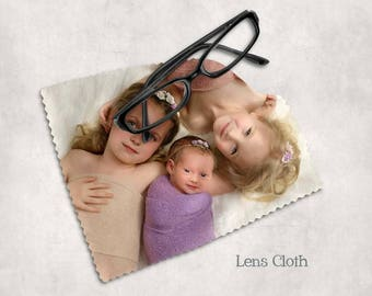 Photo Lens Cloth, personalized lens cloth, glasses cloth, camera lens cloth, custom lens cloth, photography lens cleaner, business logo