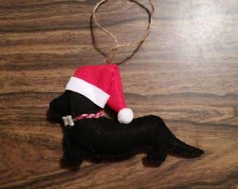 Dachshund Christmas Ornament