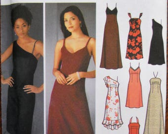Simplicity 5244.  Simplicity 5244 pattern.  Special occasion dress.  Bridesmaid dress.  Prom dress. Design your own dress. Sizes 4-10.