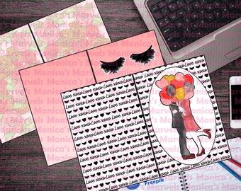 Printable B6 Travelers Notebook - Just TN