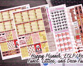 Valentine's Deluxe Kit - HP, ECLP/Rec, Littles and Functional Deco sheet