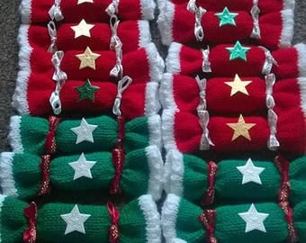 Christmas crackers, xmas crackers, table decoration, table centrepiece, tree decorations, gifts