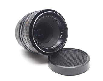 M42 Kalimar Auto-T Wide Angle Lens 35mm f2.8 Pentax Screw Mount Lens