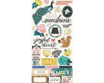 Flourish by maggie holmes sticker sheet