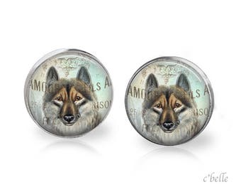 Stud Earrings Fox Fox 30