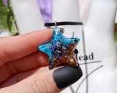 Orgonite® - Orgonite® Pendant - Star - Necklace - Handmade - Orgone Generator® - Crystals - Gift - EMF Protection - HoodXHippie