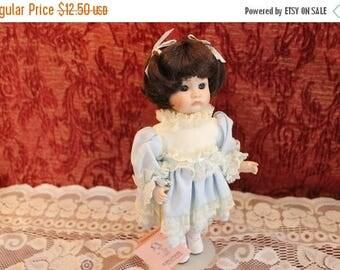 """SALE Kingstate The Dollcrafter 11"""" Porcelain Doll named Kate"""
