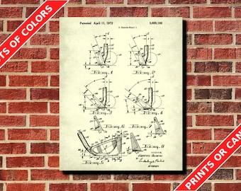 Golf Club Patent Print, Golfing Poster, Golfing Wall Art, Vintage Golf Poster, Golfer Gift, Golf Decor, Golf Wall Art, Golf Wall Art