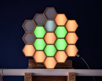 Honock - Hexagon Honey Clock