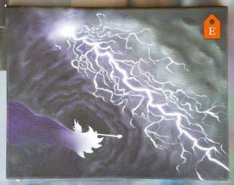 Maleficent's Power (Original Painting)