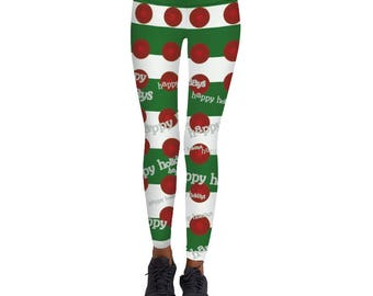 New! Christmas Printed Leggings