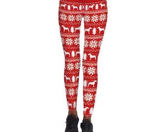 New! Christmas Printed Leggings
