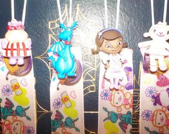 Lambie from Doc McStuffins bookmark