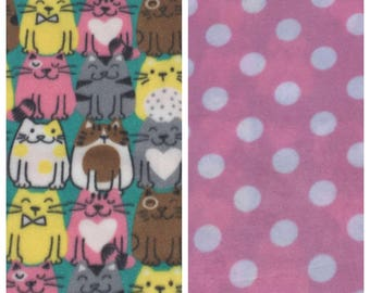 Fleece Cat Blanket (C63)