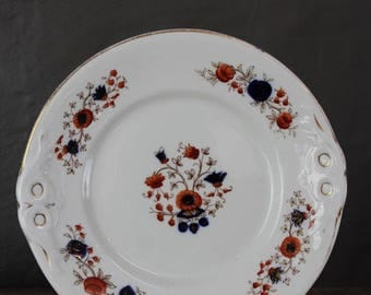 Victorian Floral Plate