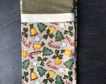 SALE!  Pillowcase - Christmas Cookies