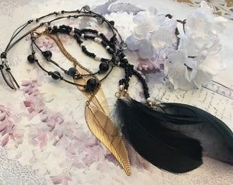 romantic bohemian necklace