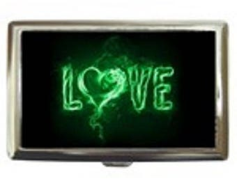 Green Love -- Cigarette Case