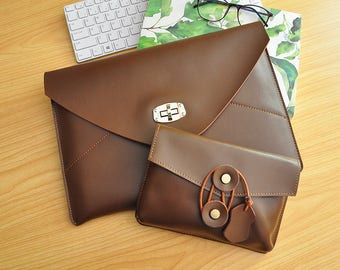 Leather Laptop Sleeve, Macbook Pro Sleeve Case,Macbok Air 13 Sleeve,Macbook 12inch Sleeve,Surface Pro 4 Sleeve,13inch Laptop Sleeve-112
