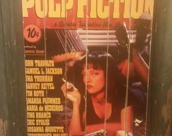 Pulp Fiction Large Wood Art