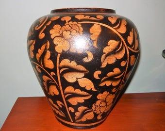 Large Urn Asian Styled