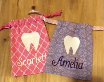 Custom Tooth Fairy Pouch