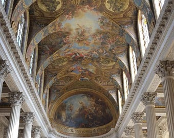 The Royal Chapel | Palace of Versailles, Paris, France ~ King Louis, Versailles, Palace, French Royalty, Cathedral, Marie Antoinette, Dome