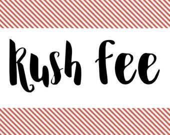 Rush Fee for Banner Oders!