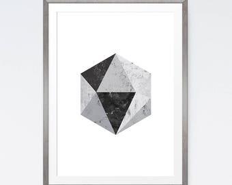 Geometric printable, Modern print art, Wall prints, Abstract geometric, Abstract printable, Geometric poster, Minimalist printable