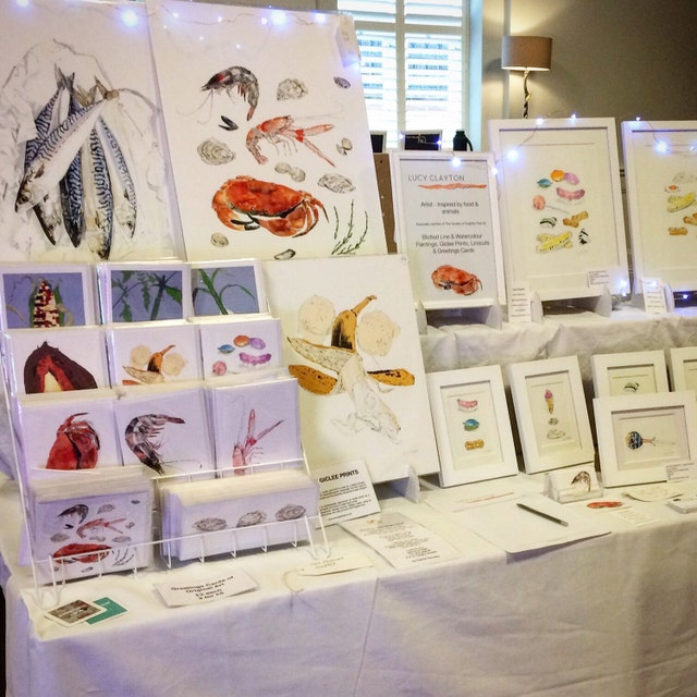 Original Art Giclee Prints & Cards By Lucy By LucyClaytonArt