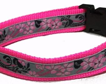 Dog Collar, Cherry Blossom