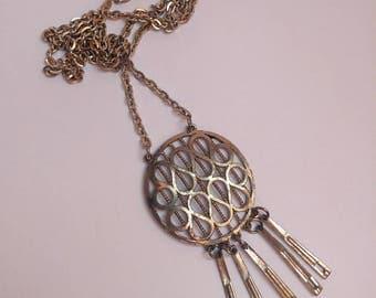 Vintage 70s space age necklace