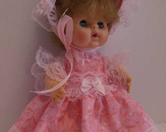 "Pink Frilly Dress Set for Uneeda 8"" Bundle of Love Dolls"
