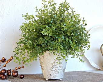 How To Find Convincing Fake Plants. Indoor Artificial Green Plants ...